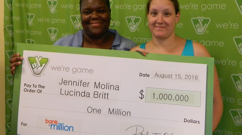 Best friends play Bank a Million together, split $1 million after taxes