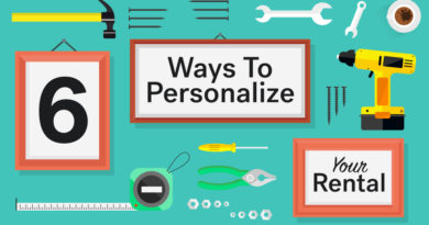 6 Ways To Personalize Your Rental (Without Losing Your Deposit)