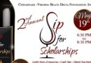 "Chesapeake-Virginia Beach Delta Foundation to hold 2nd Annual ""Sip for Scholarships"" Fundraiser"