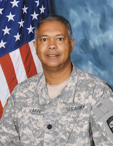 Army Lt. Col. Claude Vann, III