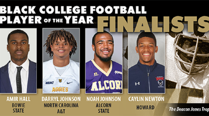 Black College Football Hall of Fame Announces 2018 Football Player of the Year Award Finalists