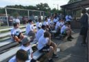 On the Sidelines with Camp Lineman