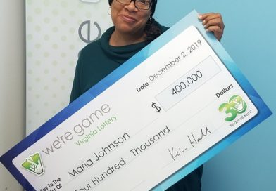 Hampton woman quietly wins $400,000 playing Monopoly Multiplier She takes top prize in Virginia Lottery game