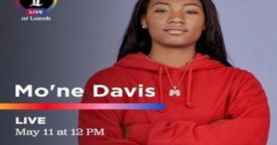 Hampton University Softball Player Mo'ne Davis to Appear Live Today on the Philadelphia Inquirer's Instagram Page