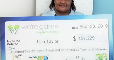 Norfolk woman wins $127,229 in Print 'n Play Rolling Jackpot She hits it big in Virginia Lottery game