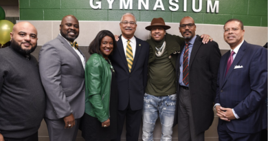Allen Iverson Returns to Bethel, Gymnasium Named In His Honor