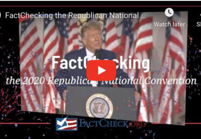 Fact Check: Truth in Trump's RNC speech, like needle in haystack?