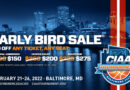 Early Bird Tickets on Sale October 13 for the 2022 CIAA Championship Basketball Tournament
